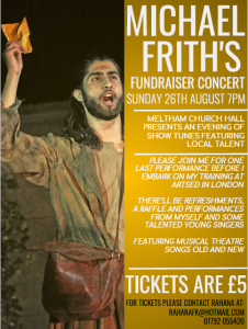 Musical Theatre Concert by Michael Frith @ Meltham Church Hall | Meltham | England | United Kingdom